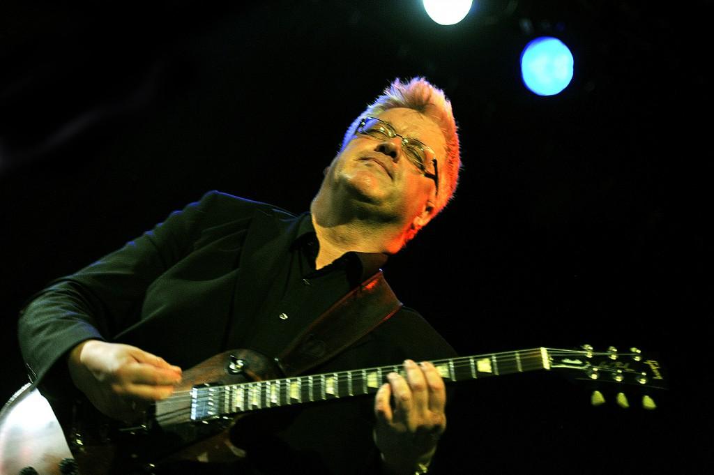 Gitarist Staffan William Olsson på Gleng